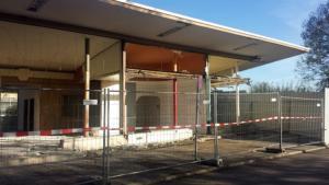 Bahnhof Allach im Abriss